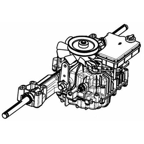 Boîte Hydrostatique tracteur tondeuse Oleo Mac