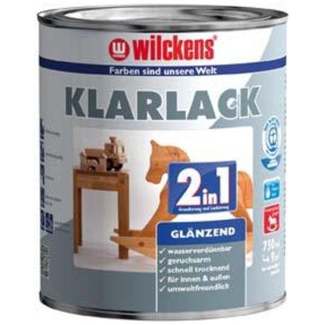Wilckens Klarlack 2in1, 750 ml glänzend