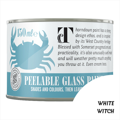 White Witch Peelable Glass Paint 150 ml