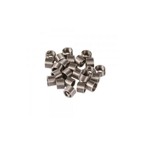 Paquet de filets rapportés de type helicoil M5 x 0,8 mm pq de 25