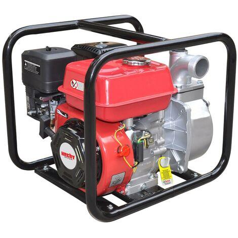 Hecht jardin 3635 Pompe a eau us'es essence 4 temps sous-sols jusqu a 38 000 L/h 23kg