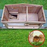 Cage Clapier Enclos lapin Docteur Lievre Largeur totale 2,48 m Modele 011 Dr. Lapin