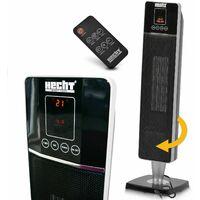 Hecht jardin Radiateur electrique avec chauffage 1200W et 2000W BB LOISIR