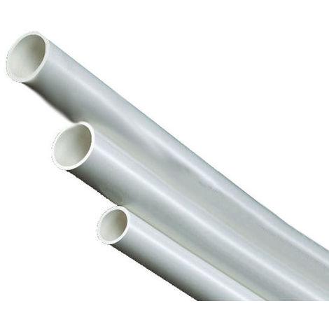 Gaines PVC Flexibles diamètre 8mm Blanc
