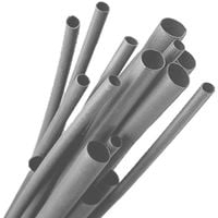 Gaines PVC Gris Flexibles diamètre 12mm Gris