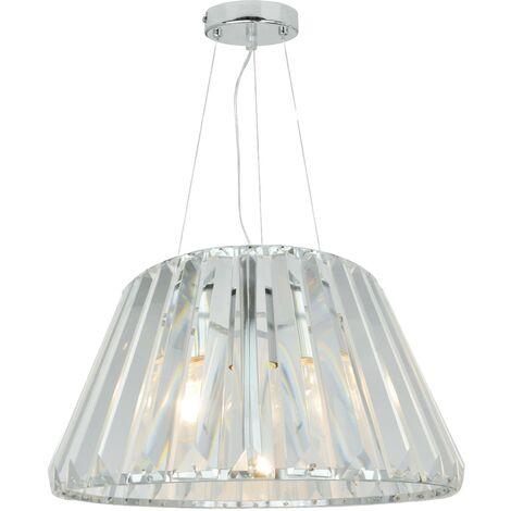 Luminaire Suspension design style diamand eclairage LED intérieur plafond