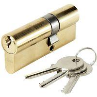Cylindre de porte ABUS E5 30 x 50 mm 3 clés Canon double entrée barillet anti crochetage