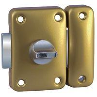 Verrou de portage targette Verrou de sûreté Bricard à bouton sans cylindre
