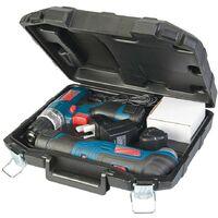 Outil oscillant multifonction et Perceuse Visseuse Sans fil 10,8 V SILVERLINE 2 Batteries