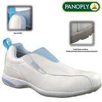 Chaussures de sécurité Blanche pour Femme S2 SRC Médicale Alimentaire Restauration Taille - 37