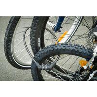 THIRARD - Antivol à combinaison Twisty, 4 chiffres, câble acier, vélo, 10mmx0.65m, noir