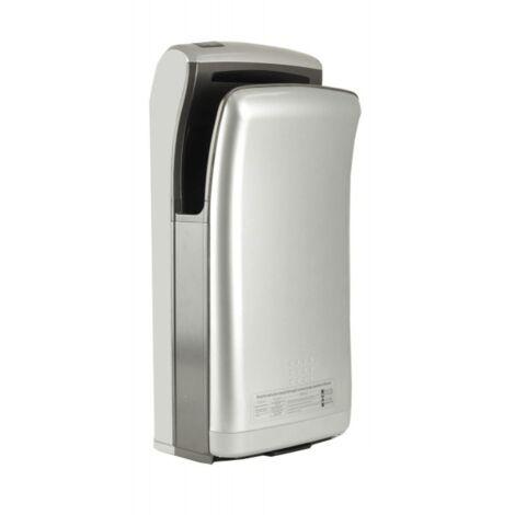 Sèche-mains Vitech automatique à double jet d'air gris 1800W Séchage rapide