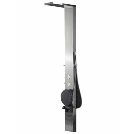 Bodyclean - Colonne de douche balnéothérapie 2 jets en acier inoxydable avec siège incorporé S179-T
