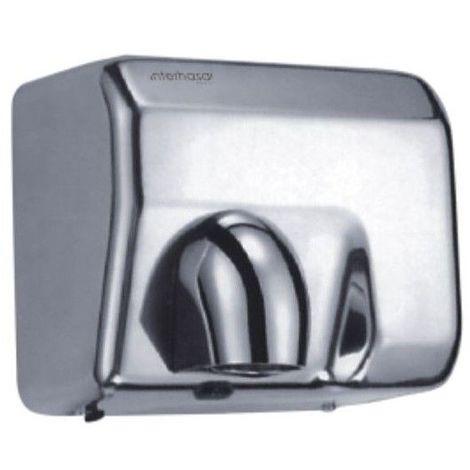 Sèche-mains professionnel Vitech Electrique automatique inox chromé a air pulsé 2300 W anti vandalisme à tête orientable