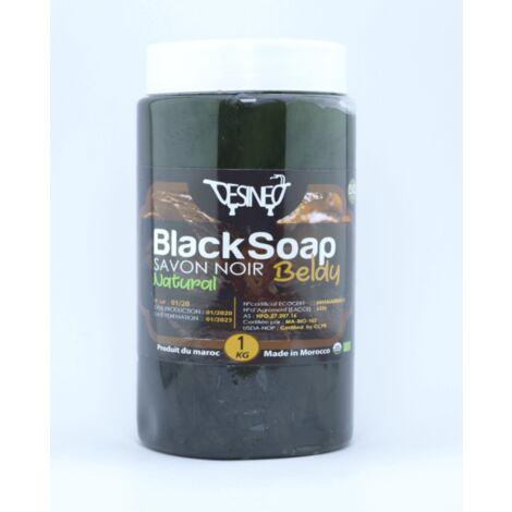 Savon noir traditionnel 100% naturel biologique 1kg beldi
