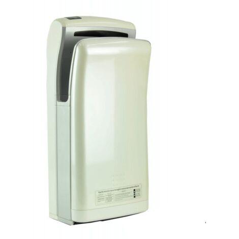 Sèche-mains Vitech automatique à double jet d'air blanc 1200-1800W Séchage rapide
