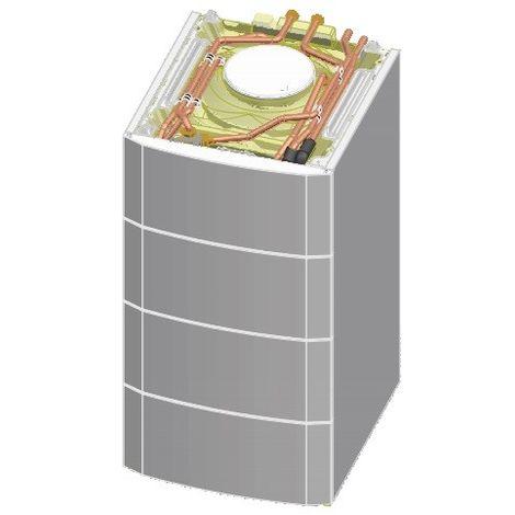 Preparateur ECS ballon solaire 220l pour chaudière à condensation au sol MODULENS AGC (colis ER220) 220SHL DE DIETRICH 100016425