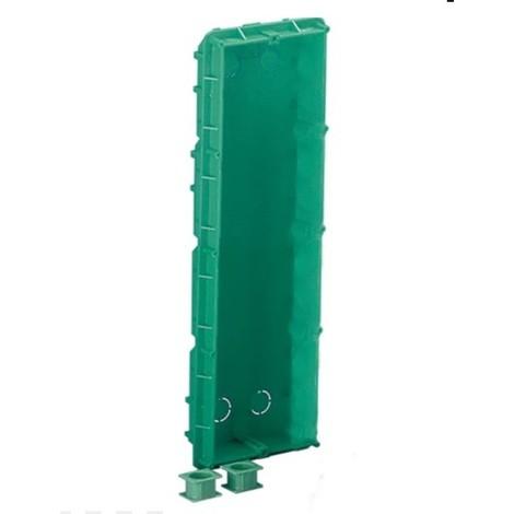 Boitier d'encastrement à sceller 4 modules 387X118X45mm pour platine de rue d'interphone Powercom ou Ikall COMELIT 3110/4
