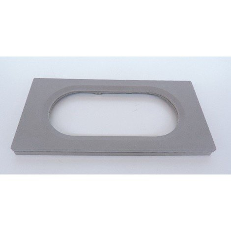 Plaque double béton ciré 4/5 modules H/V pour appareillage mural CELIANE Legrand 069145