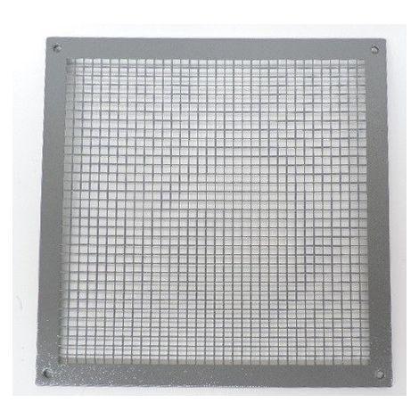 Grille de protection exterieure métal carré 350x350mm pour ventilateur mural TRA350 VORTICE 51350