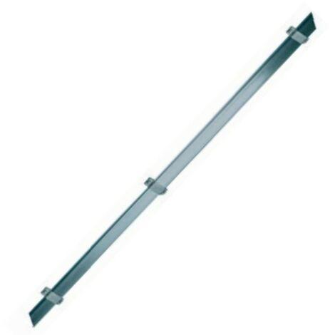 Tube de protection en inox pour ruban cuivre paratonnerre + fixations (Par 2) ABB H0TPI2705
