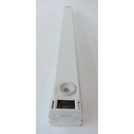 Réglette fluorescente d'ambiance grand flux plastron 1250lm 110V pour source centralisée URA 250002