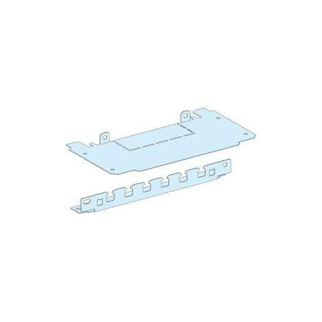 Plaque passe-câbles pour socle de gaine L250mm SCHNEIDER 08888