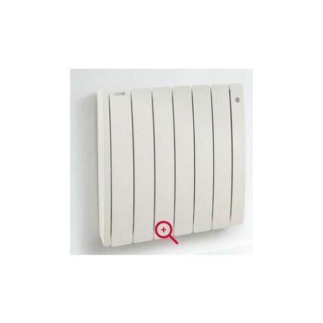 Radiateur électrique 750W tubulaire à inertie fluide caloporteur blanc 575x486mm TAIGA ACOVA TAK-075-048