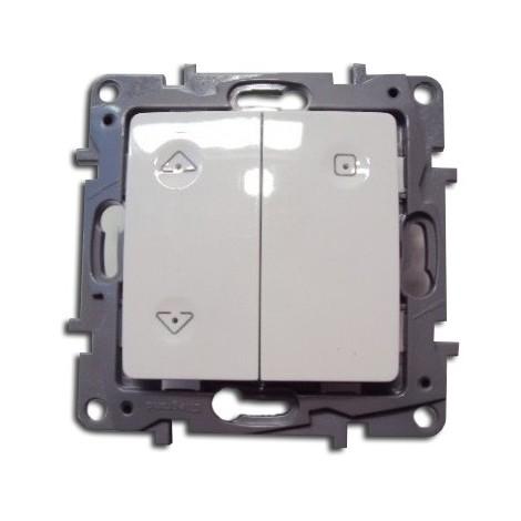 Interrupteur individuel de volet roulant 230V 500W recepteur radio (ZIGBEE) blanc NILOE LEGRAND 665112