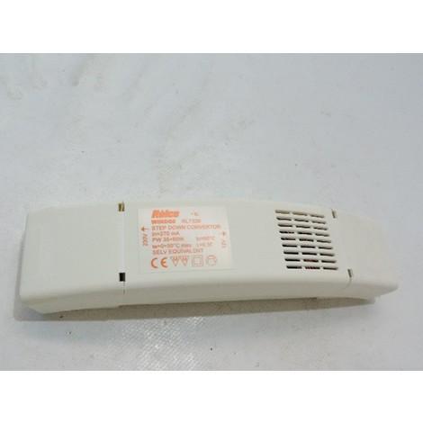 Transformateur electronique 12V puissance 35-60W reglage incorporé et commande séparée pour lampes halogenes WIND60 RELCO RL7328
