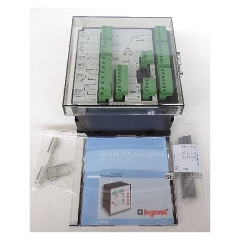Boîtier d'automatisme pour inversion de sources entre 2 disjoncteurs DMX/DPX communiquant port RS485 LEGRAND 026194