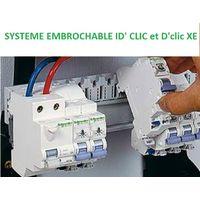 Disjoncteur 2A 1P+N courbe C 3kA embrochable DCLIC XE SCHNEIDER ELECTRIC 16724