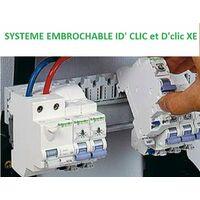 Disjoncteur 20A 1P+N Courbe C 3kA embrochable DCLIC XE SCHNEIDER 16727