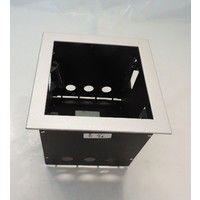 Boitier d'encastrement 1 poste 185X185X200mm pour luminaire rond orientable 30° CARDAN PRO TRAJECTOIRE 083120