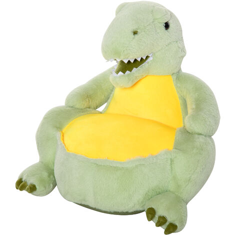HOMCOM Kids Large Dinosaur Chair Animal Sofa Seat Cute Bedroom w/ Armrest