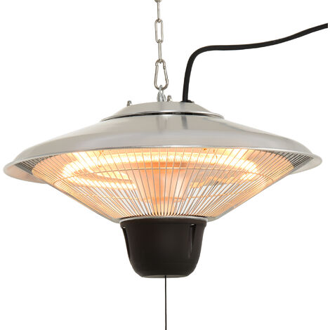 Outsunny 1.5KW Aluminium Patio Electric Heater Ceiling Hanging