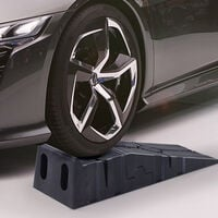 DURHAND 2.5 Ton Plastic Car Lifting Ramps Vehicle Portable Under Vehicle Check