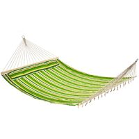 Outsunny 2 Person Hammock Camping Garden Hanging Bed w/ Pillow 188L x 140W (cm)