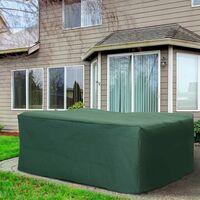 Outsunny UV Rain Protective Rattan Furniture Cover for Wicker Rattan Garden 245x165x55cm