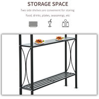Outsunny 2.5 x1.5m BBQ Tent Canopy Patio Outdoor Awning Gazebo Party Sun Shelter