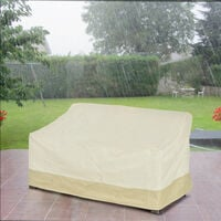 Outsunny 600D Oxford Cloth Furniture Cover 3 Seat Rattan Chair Protector Waterproof L152xW87xH58-79cm