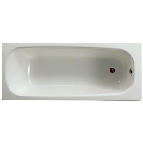 Baignoire rectangulaire avec pieds Contesa 140x70 blanc