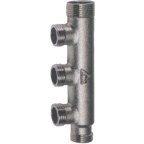 Collecteur hydrocable RBM jetline simple pas acier MM 20x27 3 dep 15x21