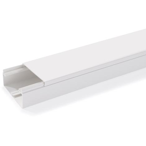 Goulotte axis 90X40 2ml - Rehau Equipement - Blanc