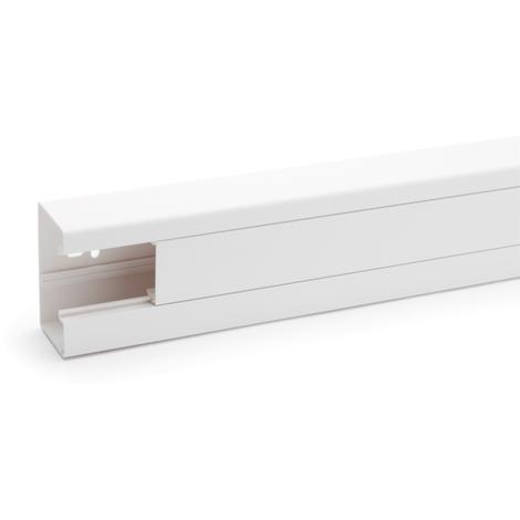Goulotte clidi 90X55 2000mm - Rehau Equipement - Blanc