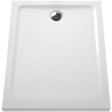 Receveur Ancoflash 2 - Anconetti - 100x80x5.5 à poser - Blanc