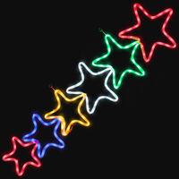 Christmas Star Wall Light - Multi Coloured