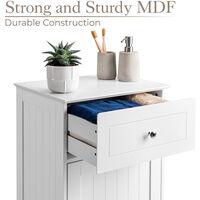 White Drawer Cabinet