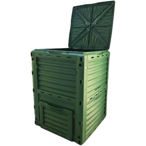 Compostador Gardiun New Organic 300 L 60x60x82 cm Polipropileno Reciclado