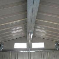 Caseta Metálica Gardiun Coventry 9,66 m² Exterior 301x321x205 cm Acero Galvanizado Verde - KIS12993